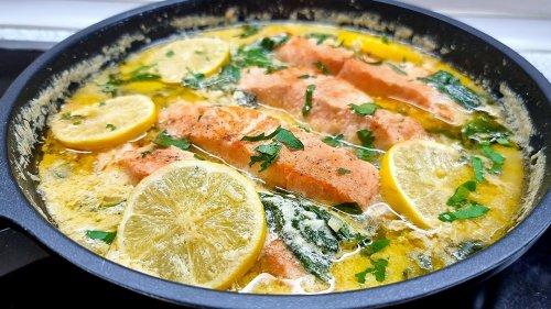 Ich habe noch nie so einen leckeren Fisch gegessen❗Das saftigste Rezept, das im Mund zergeht! #215