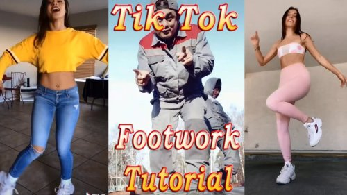 Pascal Letoublon - Friendships. Footwork tutorial. Tik Tok Dance Challenge. Compilation 2020.