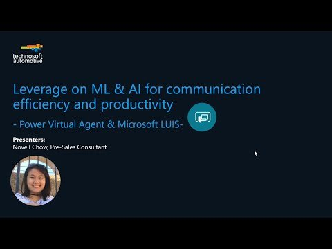 Leverage on ML & AI for Communication Efficiency and Productivity