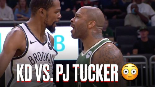 Kevin Durant & PJ Tucker Got Into It In Game 3