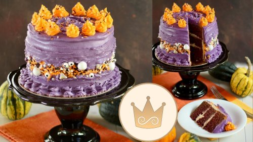 👻HALLOWEEN TORTE/FAULT LINE CAKE: Der KNALLER auf Eurer Halloween Party! | Rezept von Sugarprincess