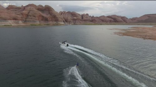 Lake Powell's water level at lowest in decades