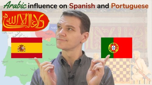 ARABIC Influence on Spanish & Portuguese!
