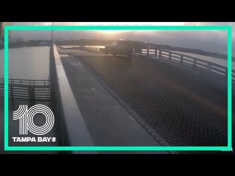 Florida Man Pulls His Best Bo Duke, Blasts Through Barrier And Jumps An Opening Drawbridge
