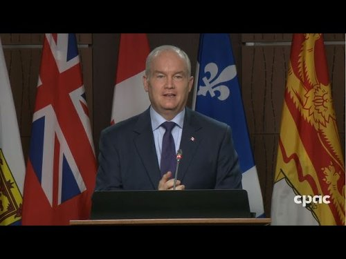 Conservative Leader Erin OToole on COVID19 vaccines and federal budget