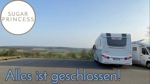 Alles geschlossen!? 🧐 Kraichgau-Odenwald-Tour mit unserem Dethleffs Esprit! 🎉 | Sugarprincess Vlog