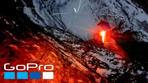 GoPro Awards: BASE Jumping at Night | The Human Jet
