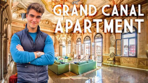 LUXURY APARTMENT FOR SALE ON CANAL GRANDE, VENICE