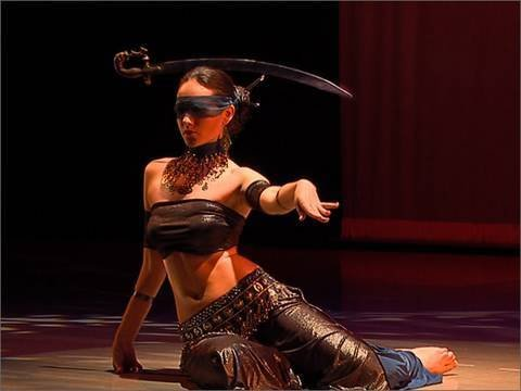 "Irina Akulenko - ""Justice"" from ""Tarot - Fantasy Belly Dance"" DVD - WorldDanceNewYork.com"