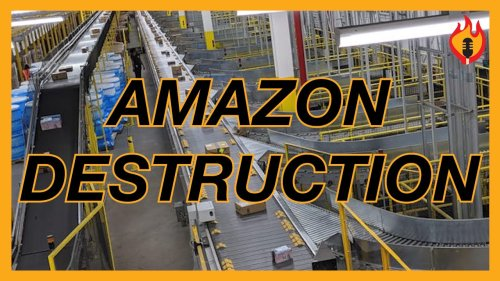 Krystal and Saagar: Amazon CAUGHT Destroying MILLIONS Of Perfectly Good Products For Profit