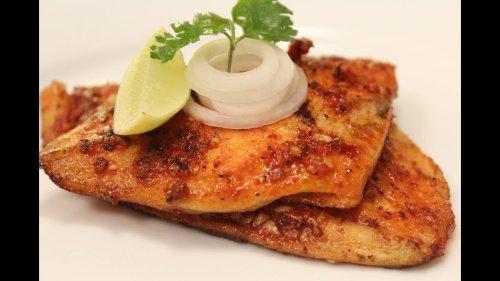 Spicy Grilled Fish   Sanjeev Kapoor Khazana