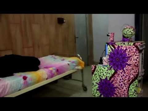 Nigerian students design coronavirus care robot