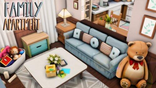 Family Apartment 👨👩👧👧💕 // Sims 4 Apartment Renovation