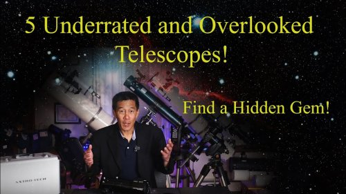 5 Overlooked and Underrated Small Telescopes in 2021!