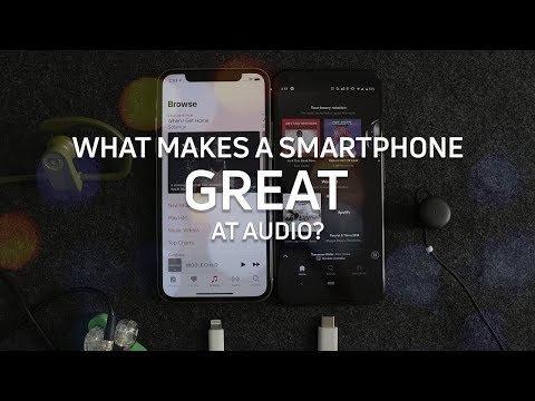 Best smartphones for audio