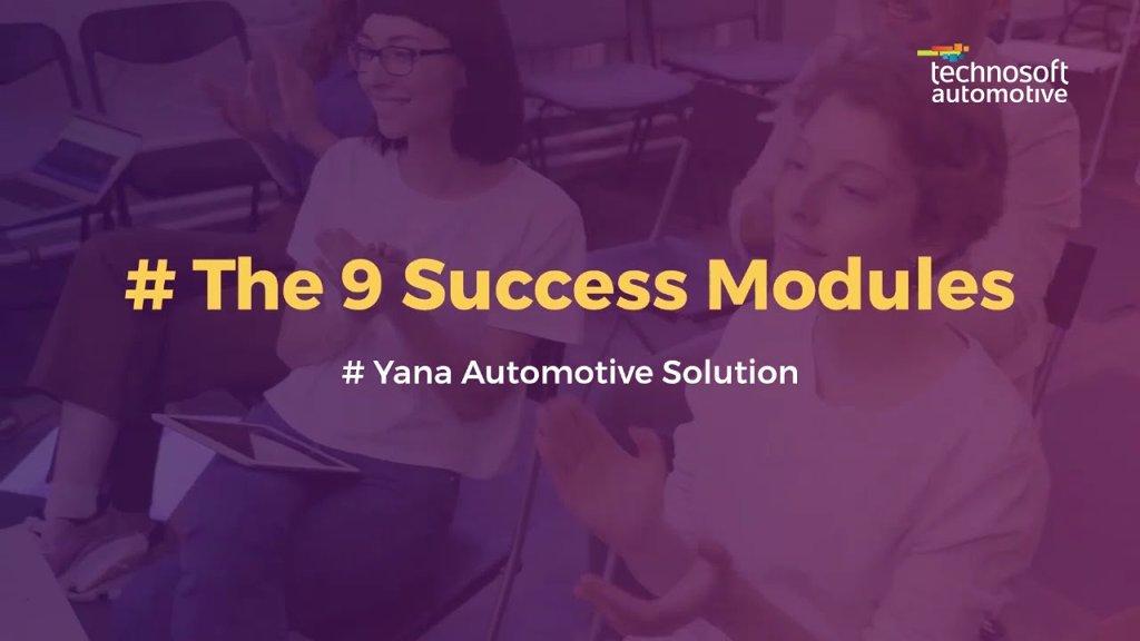 The Best Automotive Solution | Yana Automotive Solution | Modules - cover