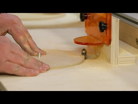 Cutting Perfect Circles With The Router Table