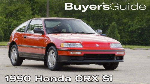 The Honda CRX Si is perfect just the way it is | Buyer's Guide | Ep. 303