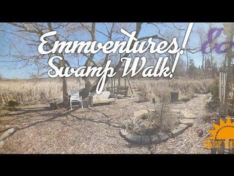 EMMVENTURES! Crazy Canadian Swamp Walk!!
