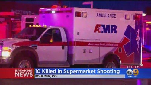 10 Killed In Supermarket Shooting In Colorado