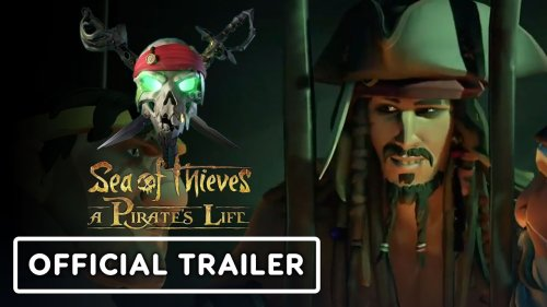 Sea of Thieves: A Pirate's Life - Official Jack Sparrow Reveal Trailer   E3 2021