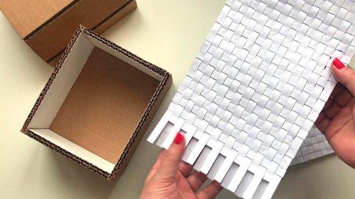 DIY Сardboard idea | Сardboard box | Paper craft