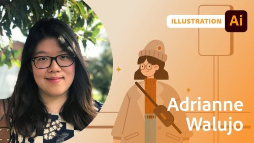 Illustration and Animation with Adrianne Walujo - 1 of 2