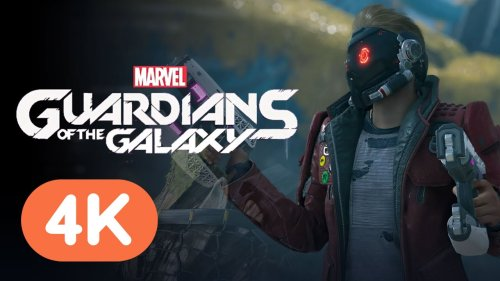 Marvel's Guardians of the Galaxy - Official Gameplay Demo (4K)   E3 2021