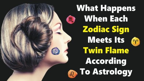What Happens When Each Zodiac Sign Meets Its Twin Flame, According To Astrology