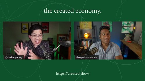 The Created Economy: Episode 6 with Mike Donoghue of Subtext
