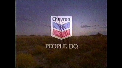 Chevron 'People Do' commercial (1997)
