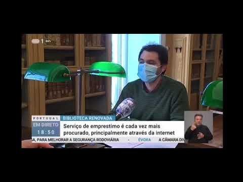 Reportagem sobre a reabertura da BPE no programa Portugal em Direto
