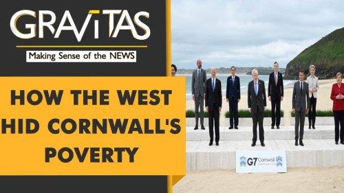 Gravitas: G7 glitz hides Cornwall's poverty