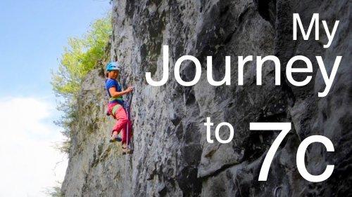 Climbing My First 7c
