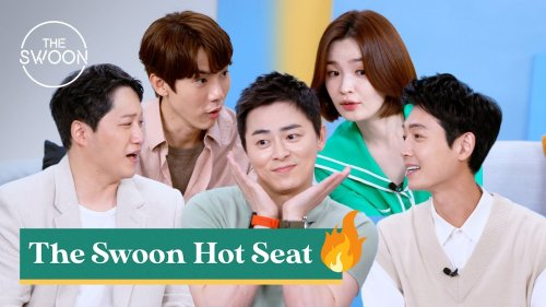 Cast of Hospital Playlist competes to raise each other's heart rate   The Swoon Hot Seat [ENG SUB]