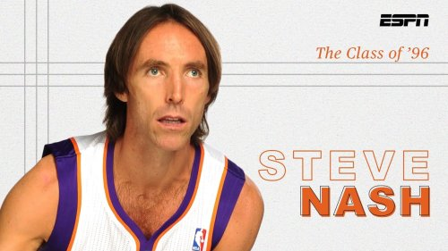 Steve Nash was the NBA's unlikeliest MVP ... then he won another one | The Class of '96