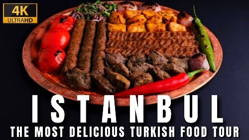 The Most Delicious Turkish Street Food In Istanbul City 2021|4k UHD 60fps
