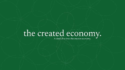 The Created Economy: Episode 3 with Niel Robertson, CEO of Influence.co