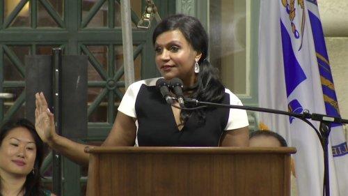 Mindy Kaling's Speech at Harvard Law School Class Day 2014