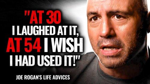 Joe Rogan's Life Advice Will Leave You SPEECHLESS | Best Life Advice