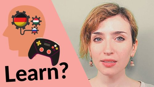 Can you learn languages while playing?! 🎮😍 #languagelearning #polyglot​