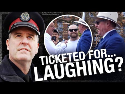 WHAT A JOKE Handshakes laughter illegal in the Peoples Republic of Peterborough