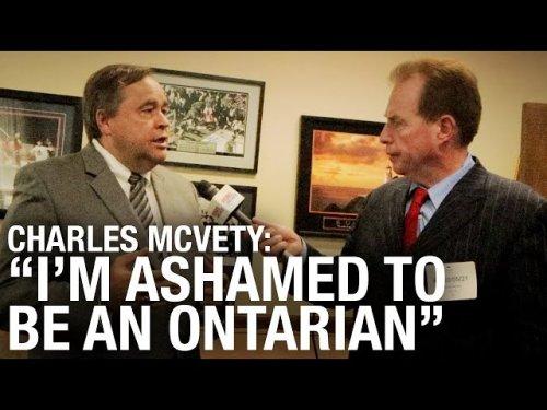 Ontario govtBig Pharma conflict of interest Dr Charles McVety thinks so