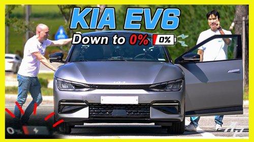 Ultimate Kia EV6 Range Test | Down to 0%