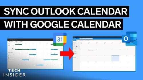 How To Sync Outlook Calendar With Google Calendar