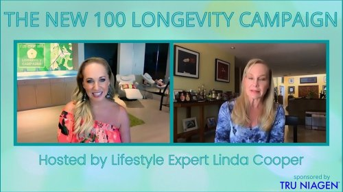 EP1 WHY WE AGE, AND HOW TO STOP IT.  Host Linda Cooper interviews Dr. Sandra Kaufmann.