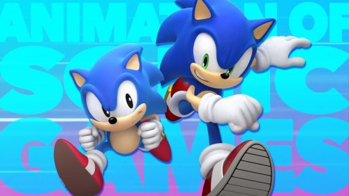 The Animation of Sonic Games