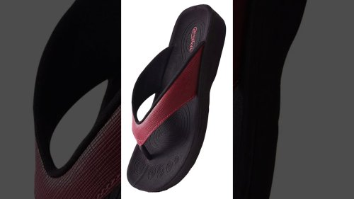 Women Sandals To Die For - Orthotic Thong Sandals With Arch Support. #shorts