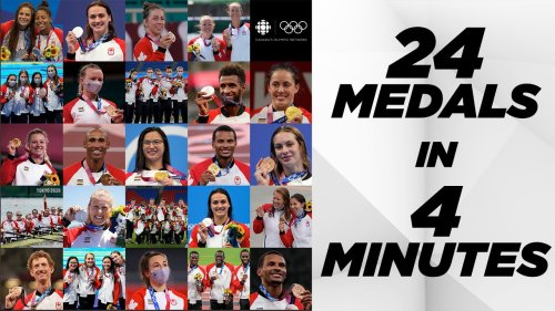 All 24 medals Canada won at the Tokyo 2020 Olympics in 4 minutes