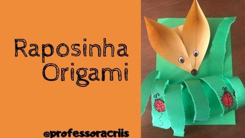Origami - Raposinha